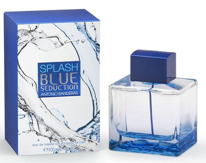 Туалетная вода ANTONIO BANDERAS SPLASH BLUE SEDUCTION для мужчин 100 мл.